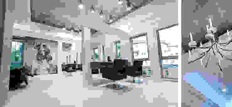 Salon fryzjerski Lorea'l Eklektyczne spa od Paszkiewicz Design Eklektyczny