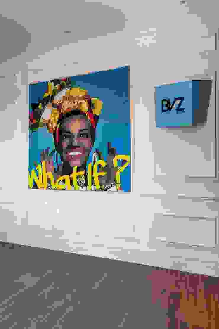 Sala de Reuniões Lojas & Imóveis comerciais ecléticos por Albus Eclético