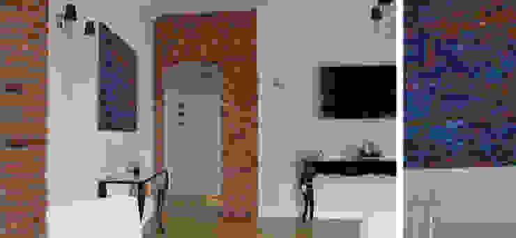 Apartament w Sopocie - salon Eklektyczny salon od Paszkiewicz Design Eklektyczny