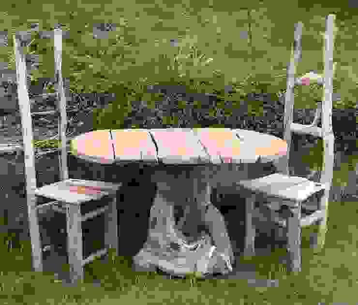 Driftwood Dining od Julia's Driftwood Rustykalny