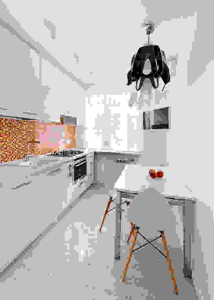 квартира <q>Машина для жилья</q> Кухня в стиле минимализм от 'Живые вещи 'Максимовых- Павлычевых' Минимализм