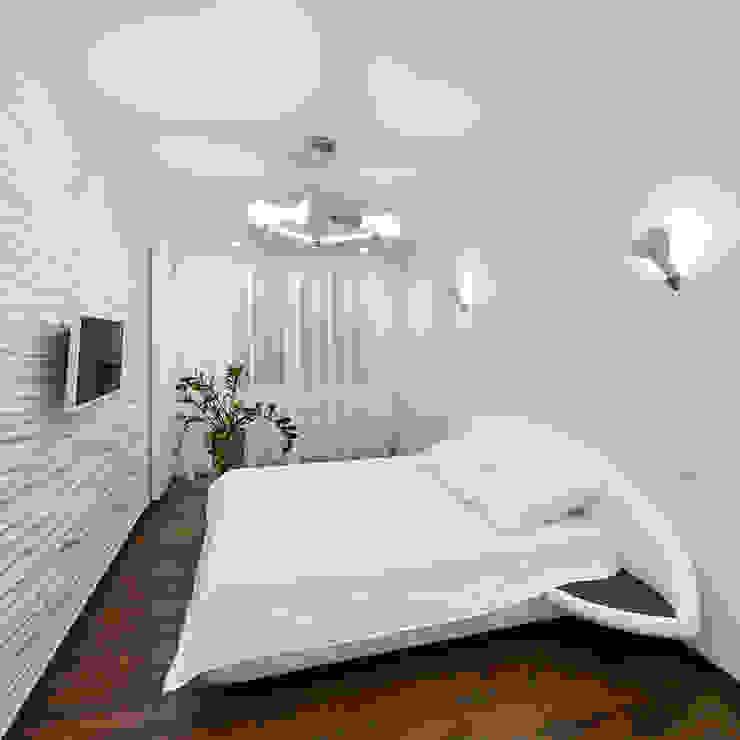 квартира <q>Капсула</q> Спальня в стиле модерн от 'Живые вещи 'Максимовых- Павлычевых' Модерн