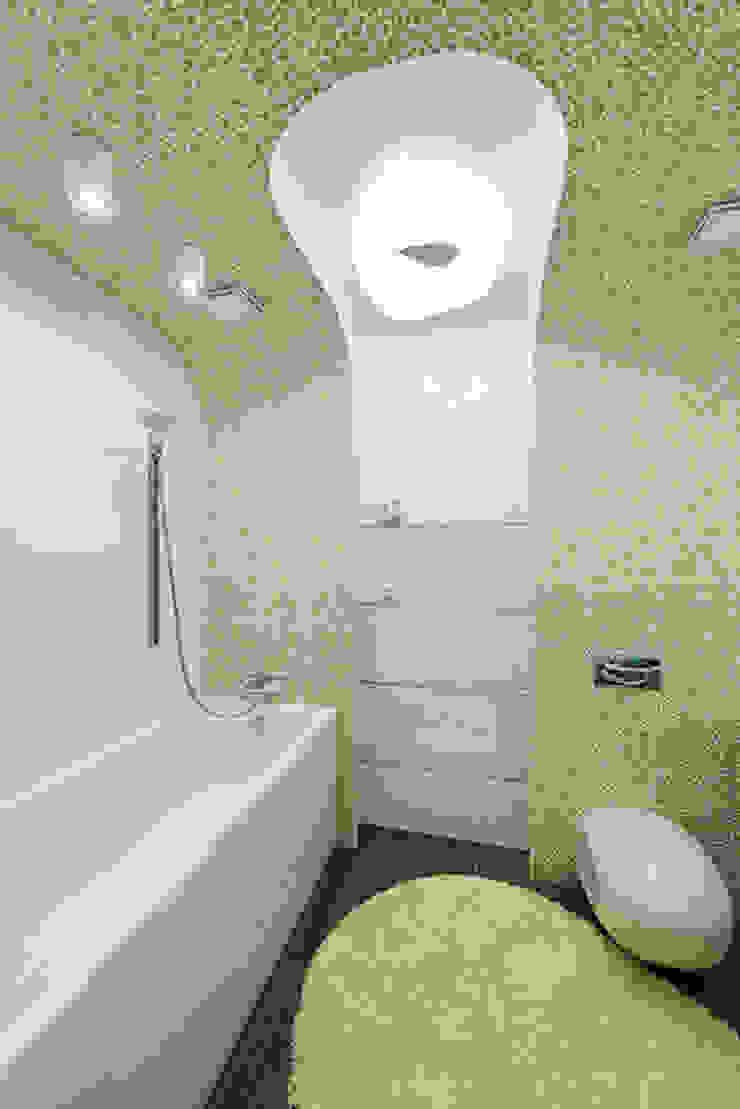 квартира <q>Капсула</q> Ванная комната в стиле модерн от 'Живые вещи 'Максимовых- Павлычевых' Модерн