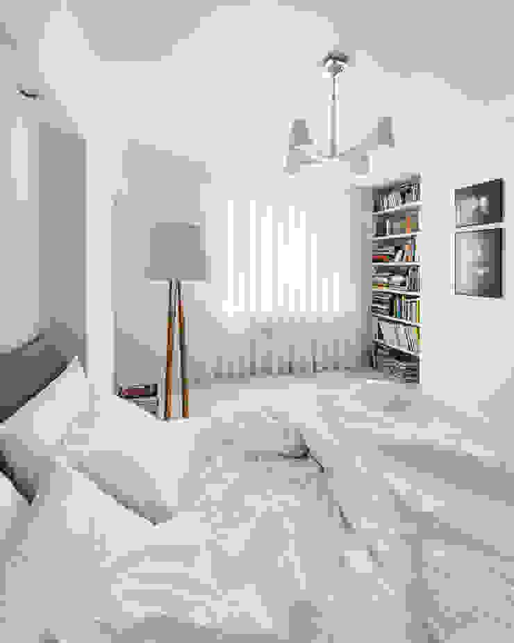 квартира <q>Дом для художника</q> Спальня в эклектичном стиле от 'Живые вещи 'Максимовых- Павлычевых' Эклектичный