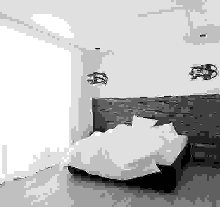 """квартира """"Цифровой код"""" Спальня в стиле лофт от 'Живые вещи 'Максимовых- Павлычевых' Лофт"""