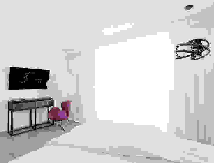 квартира <q>Цифровой код</q> Спальня в стиле лофт от 'Живые вещи 'Максимовых- Павлычевых' Лофт