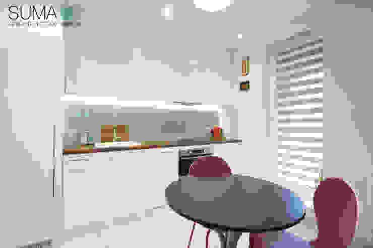 BLUE ONE Nowoczesna kuchnia od SUMA Architektów Nowoczesny