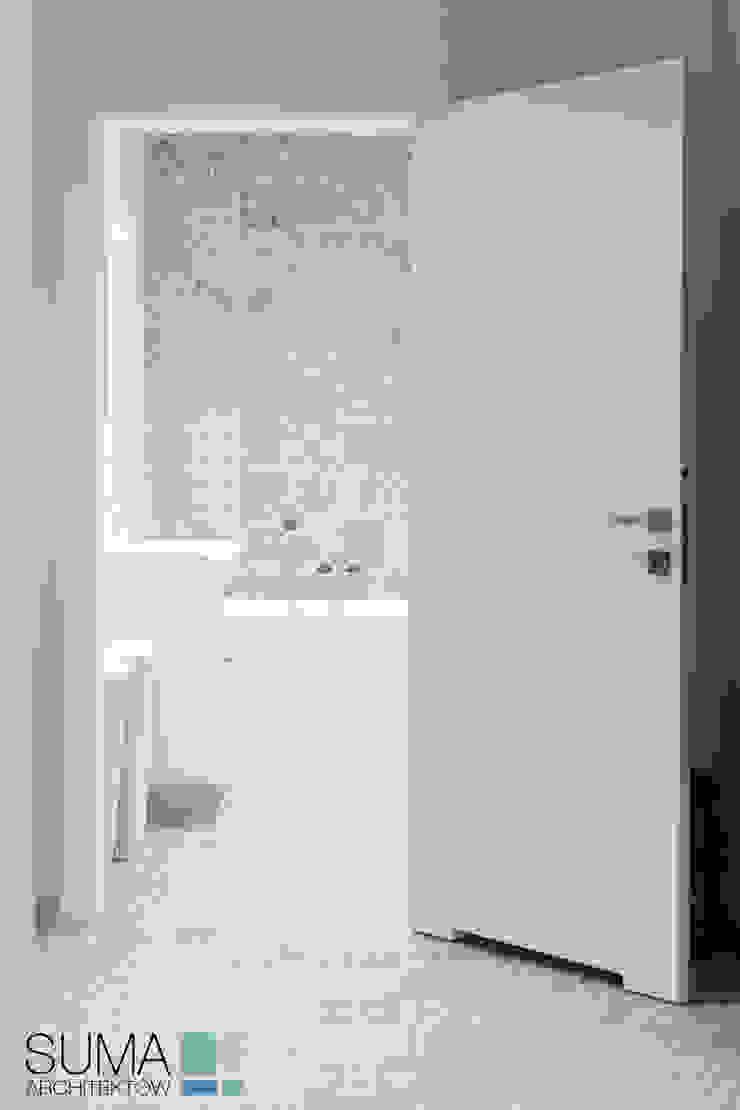 BLUE ONE SUMA Architektów Nowoczesna łazienka