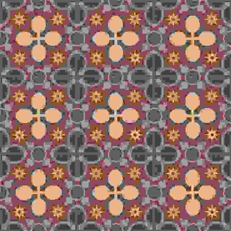 ALBA - cementowe płytki podłogowe od Kolory Maroka Śródziemnomorski
