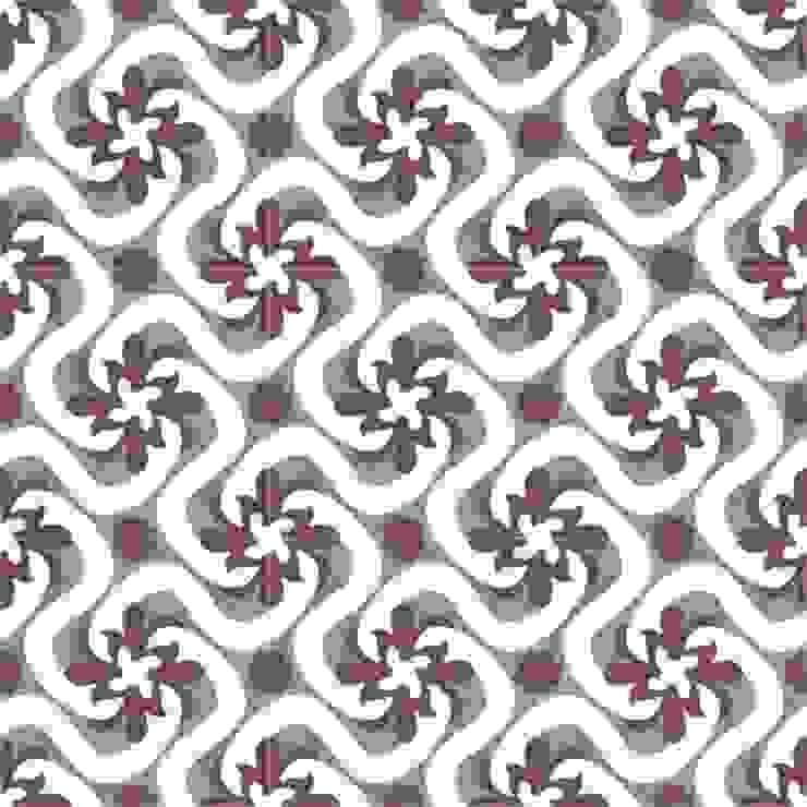 ALFREDO - cementowe płytki podłogowe od Kolory Maroka Śródziemnomorski