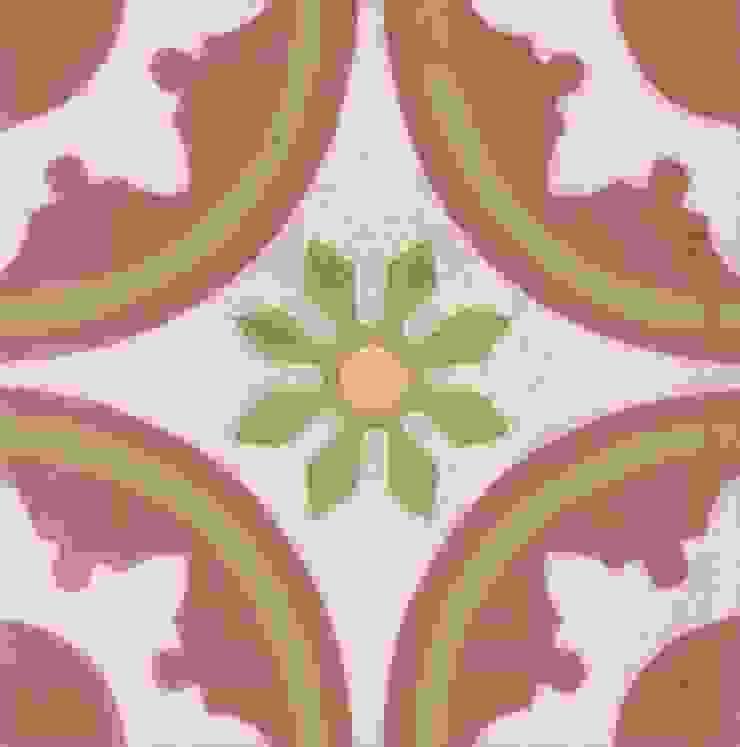 ALONSO - cementowe płytki podłogowe od Kolory Maroka Śródziemnomorski