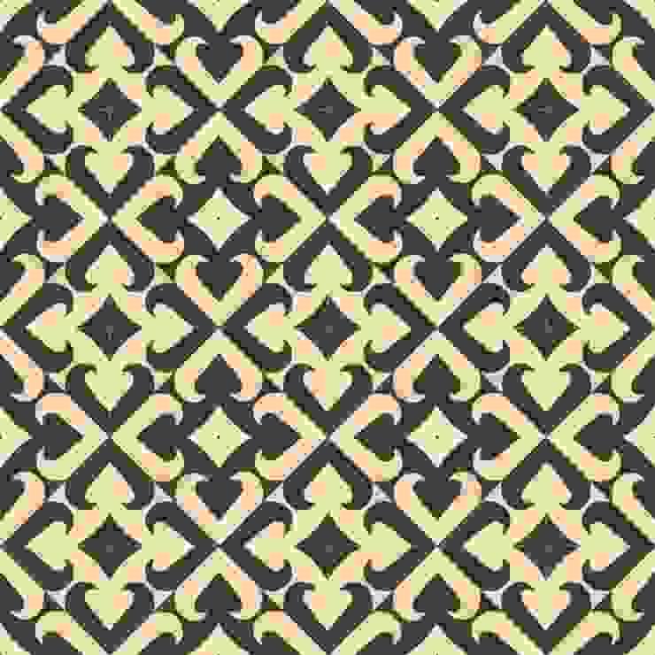 ANDONI - cementowe płytki podłogowe od Kolory Maroka Śródziemnomorski