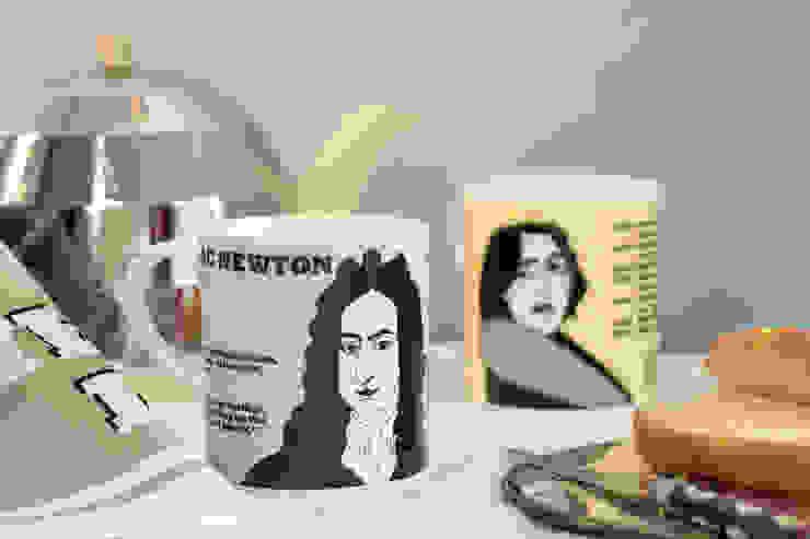 Isaac Newton and Oscar Wilde mugs: modern  by Cole of London, Modern