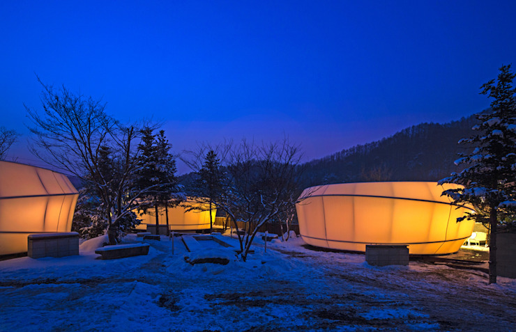 Glamping by ArchiGlam by 건축공방 'ArchiWorkshop'
