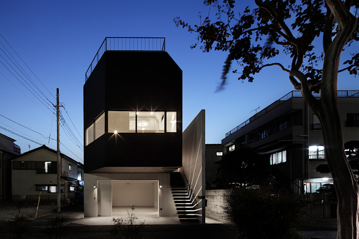 江戸川の家 ミニマルな商業空間 の RCage ミニマル