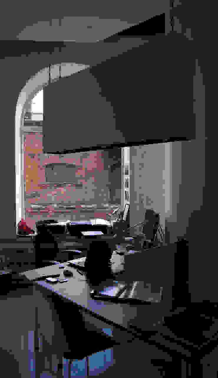 """""""001"""" Рабочий кабинет в стиле лофт от 'LINEйка' Лофт"""