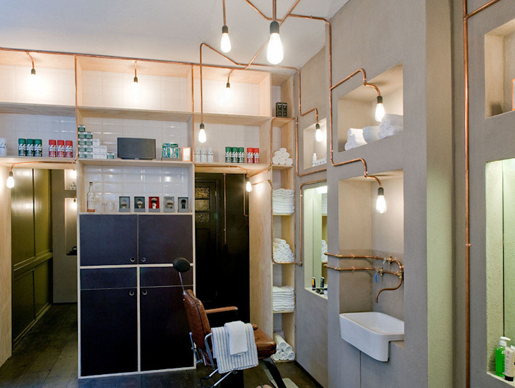 Industrial style spa by Studio Aa Industrial