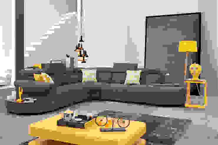 Trabcelona Design – lecos corner: modern tarz , Modern