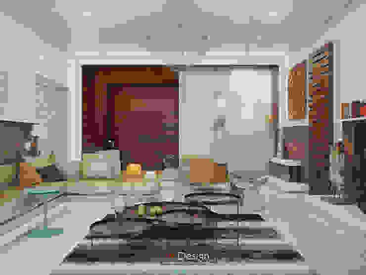 Suburban residential Гостиная в стиле минимализм от DA-Design Минимализм