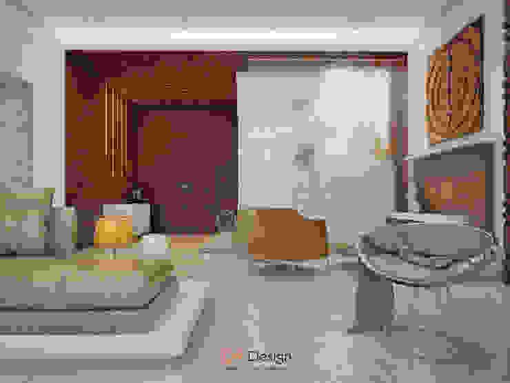 Soggiorno minimalista di DA-Design Minimalista
