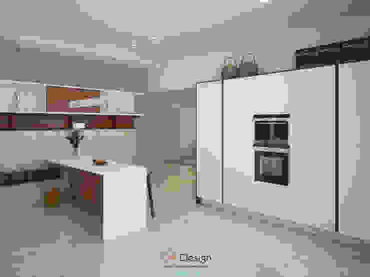 Suburban residential Кухня в стиле минимализм от DA-Design Минимализм