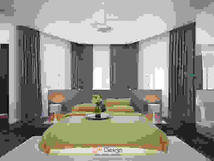 Camera da letto minimalista di DA-Design Minimalista