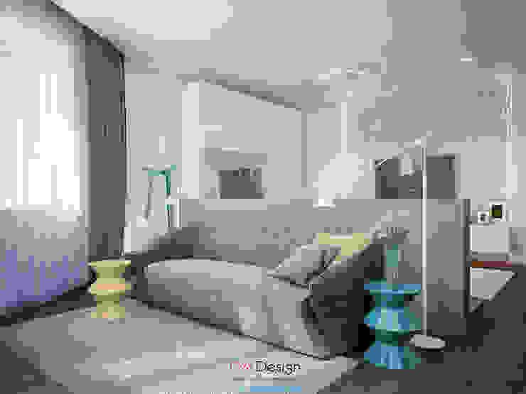 Suburban residential Спальня в стиле минимализм от DA-Design Минимализм