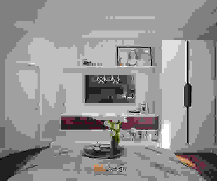 Suburban residential Спальня в эклектичном стиле от DA-Design Эклектичный