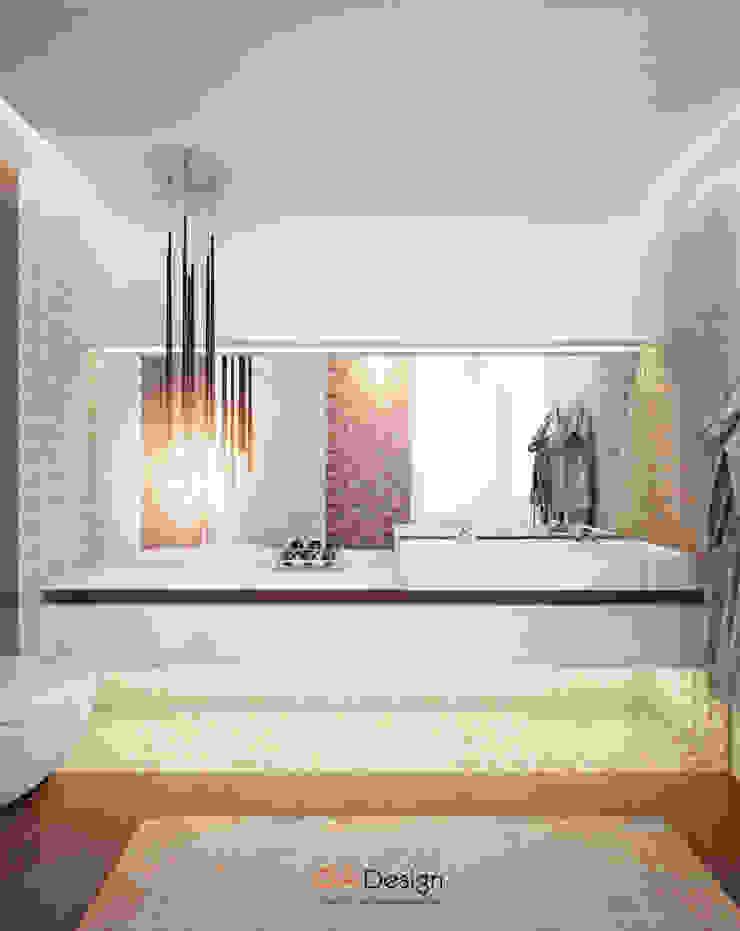 Suburban residential Ванная комната в стиле минимализм от DA-Design Минимализм