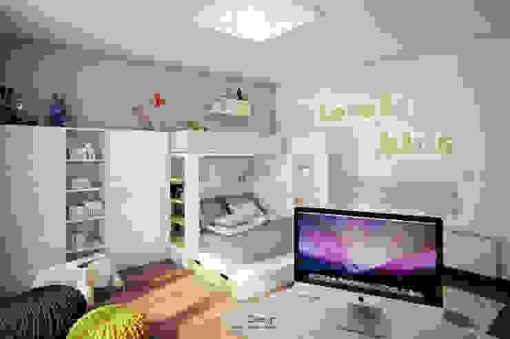 Stanza dei bambini minimalista di DA-Design Minimalista