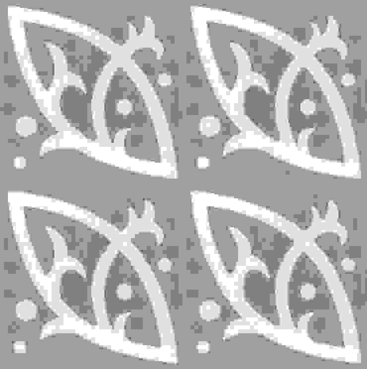 BARACK - cementowe płytki podłogowe od Kolory Maroka Śródziemnomorski