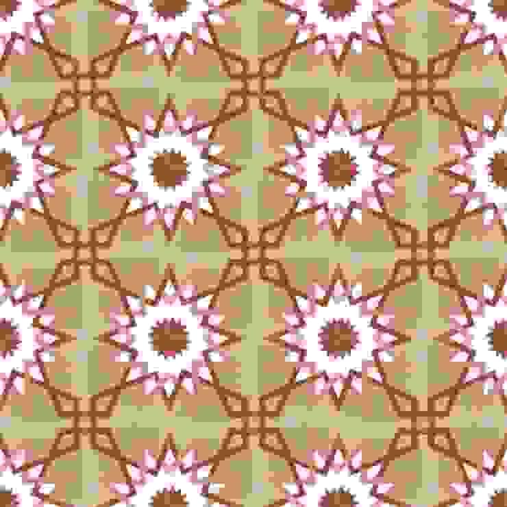 BENAT - cementowe płytki podłogowe od Kolory Maroka Śródziemnomorski