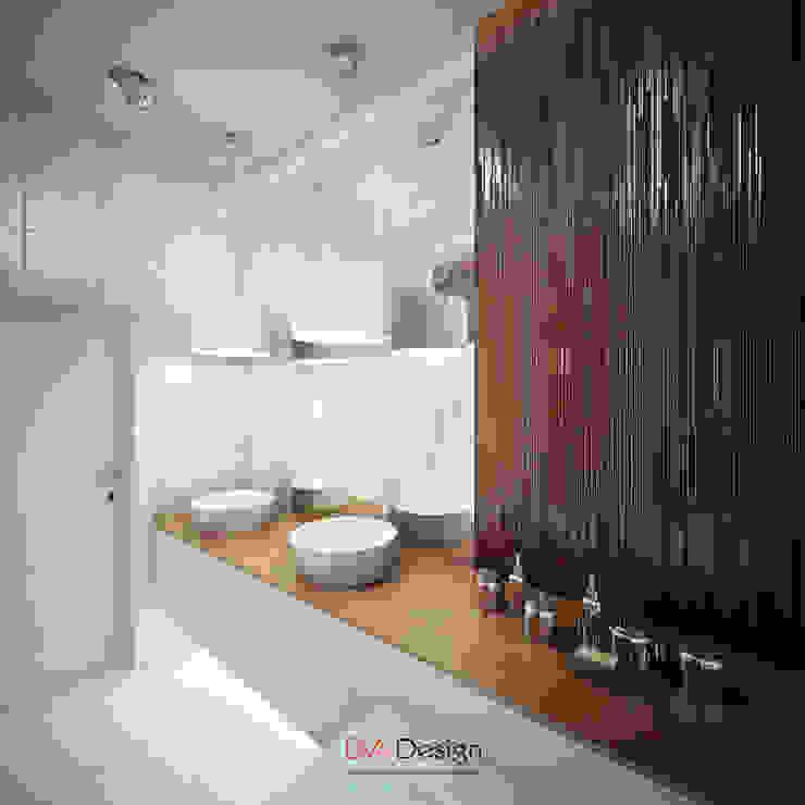 Bagno minimalista di DA-Design Minimalista