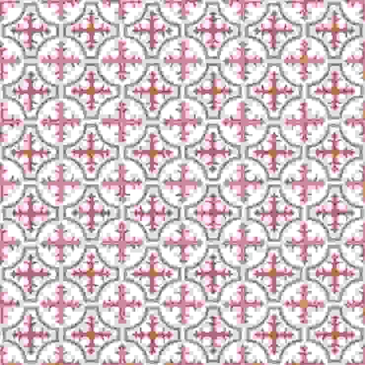 BORJA - cementowe płytki podłogowe od Kolory Maroka Śródziemnomorski