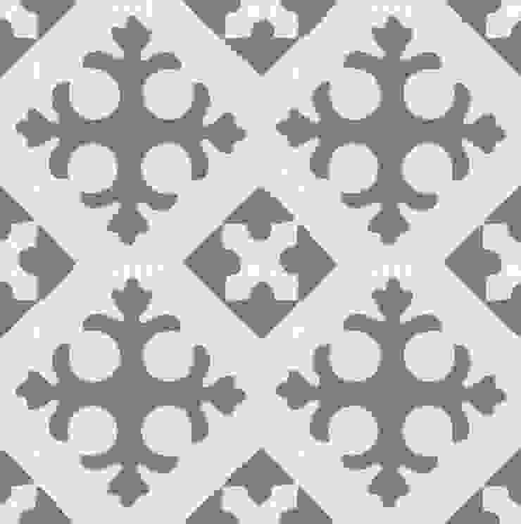 BENEDIKT - cementowe płytki podłogowe od Kolory Maroka Śródziemnomorski