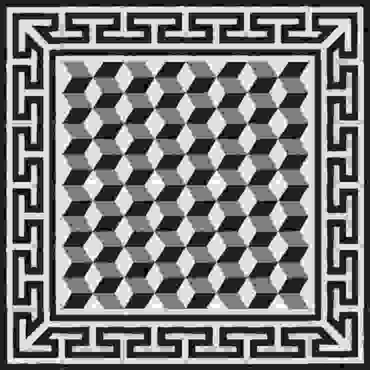 BRENO - cementowe płytki podłogowe od Kolory Maroka Śródziemnomorski