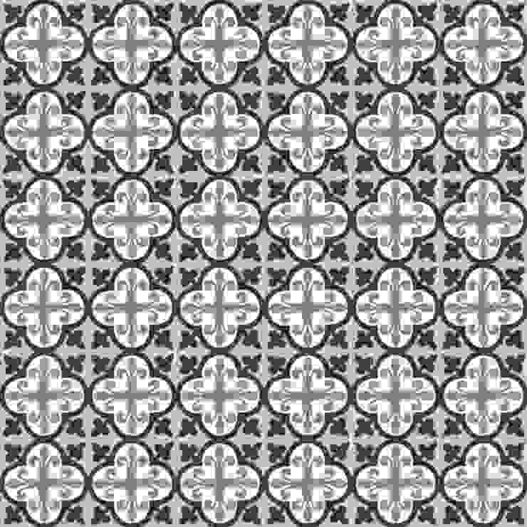 CARLES - cementowe płytki podłogowe od Kolory Maroka Śródziemnomorski