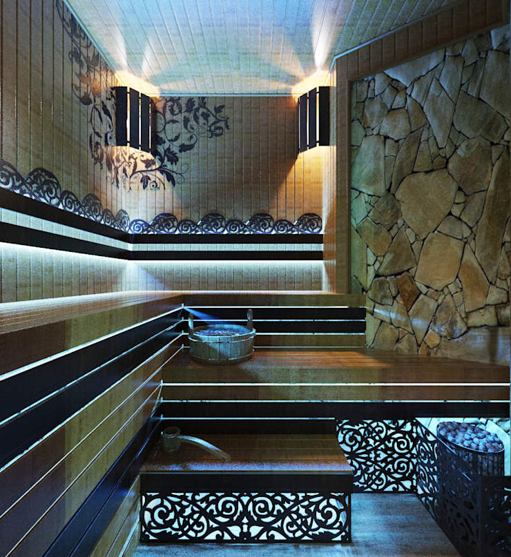 Студия дизайна ROMANIUK DESIGN Moderner Spa