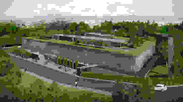 ŞİŞECAM AR-GE Binası ERBUĞ MİMARLIK Modern