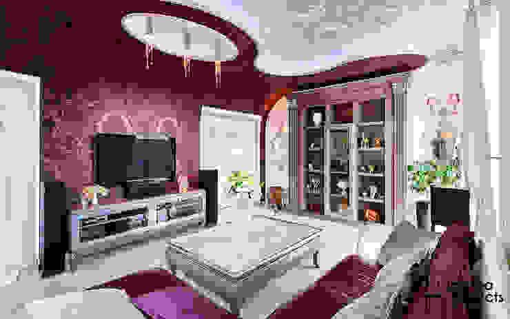 Мечта розовой феи Гостиная в классическом стиле от Samarina projects Классический
