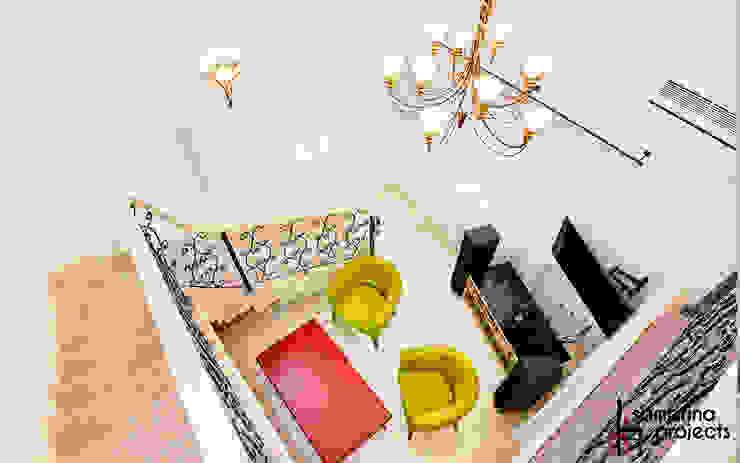 Мечта розовой феи Коридор, прихожая и лестница в классическом стиле от Samarina projects Классический