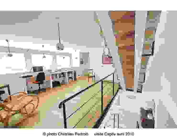 Phòng học/văn phòng phong cách hiện đại bởi La Fabrique Architectes Hiện đại