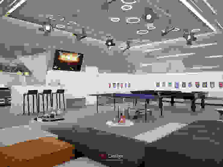 Suburban residential Медиа комната в стиле минимализм от DA-Design Минимализм