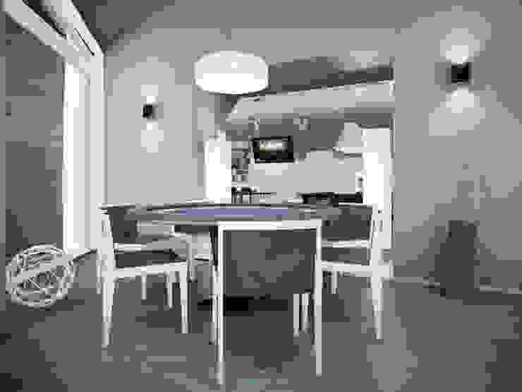 Balcone, Veranda & Terrazza in stile minimalista di DA-Design Minimalista
