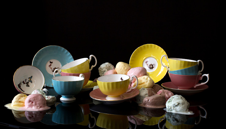 Limited Edition Colouredware Range: eclectic  by Ali Miller, Eclectic