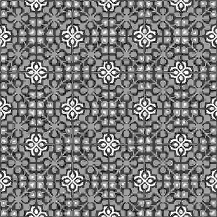 DAVID - cementowe płytki podłogowe od Kolory Maroka Śródziemnomorski