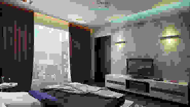 The Banny Apartment Спальня в стиле минимализм от DA-Design Минимализм