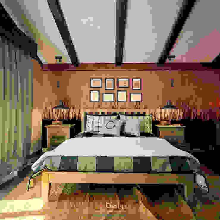 Salones de estilo colonial de DA-Design Colonial