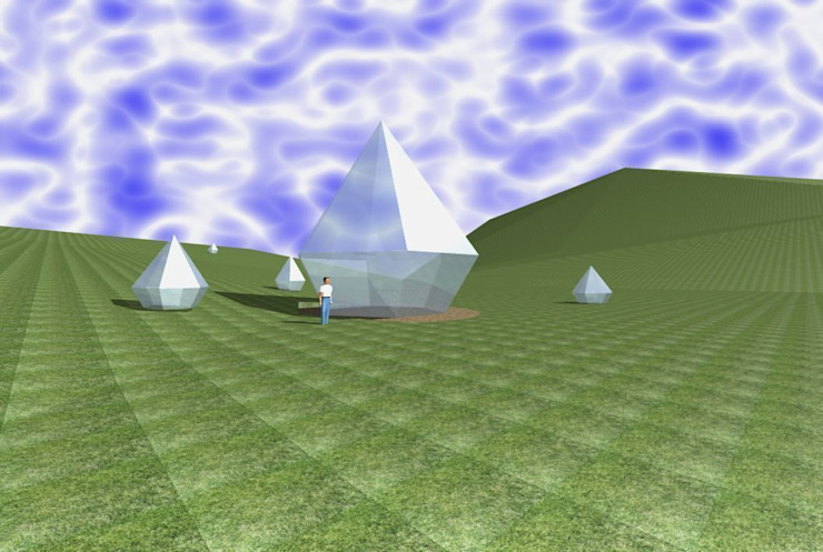 Активная геометрическая форма планетарного назначения -концепт от Eco wave studio