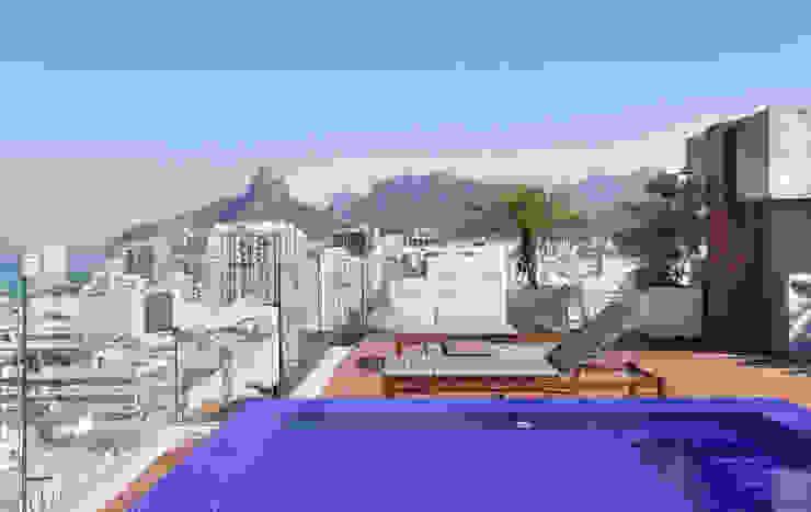 Balcones y terrazas modernos: Ideas, imágenes y decoración de House in Rio Moderno